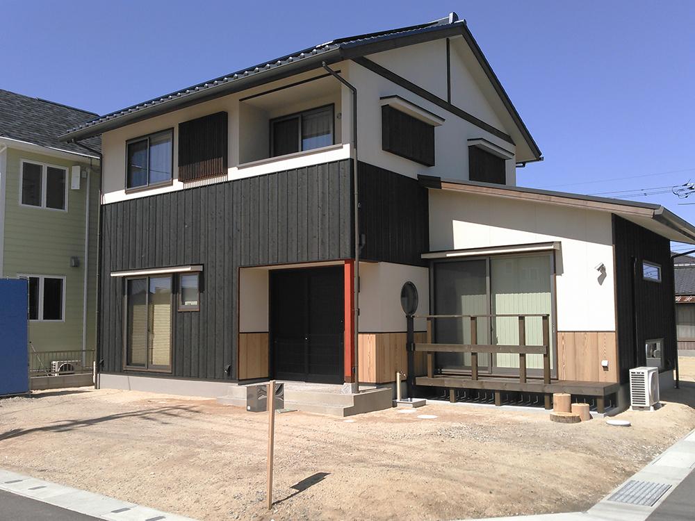 新築の和風住宅に合わせるエクステリアデザイン