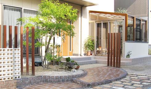 ガーデンルームでお庭のグレードアップ