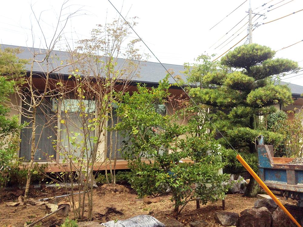 住まいの建て替えに合わせてリ・デザイン「雑木林×和モダン」の ナチュラルガーデン